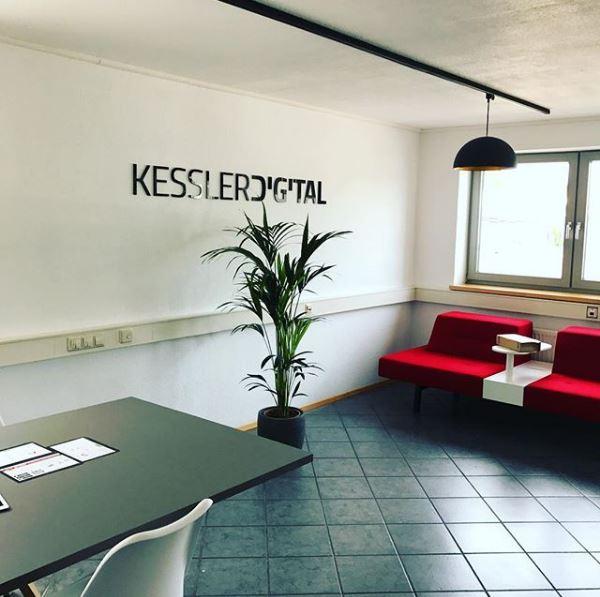 Raum bei KesslerDigital, die mithilfe von SAM Auszubildende suchen