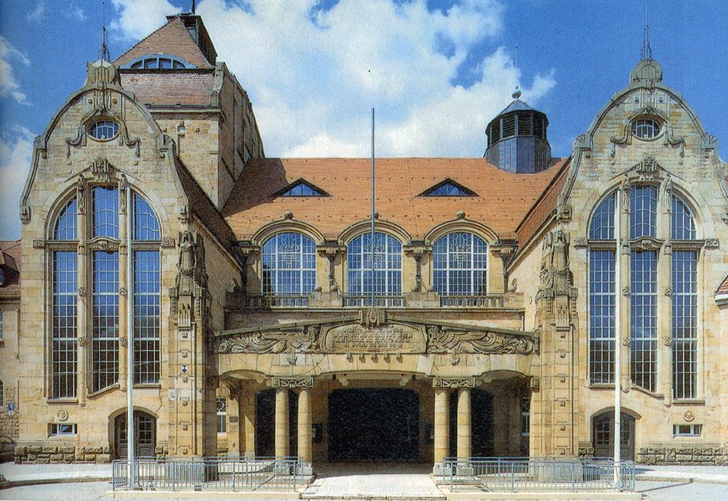 Rutsch Fensterbau Jugendstil Festhalle Landau